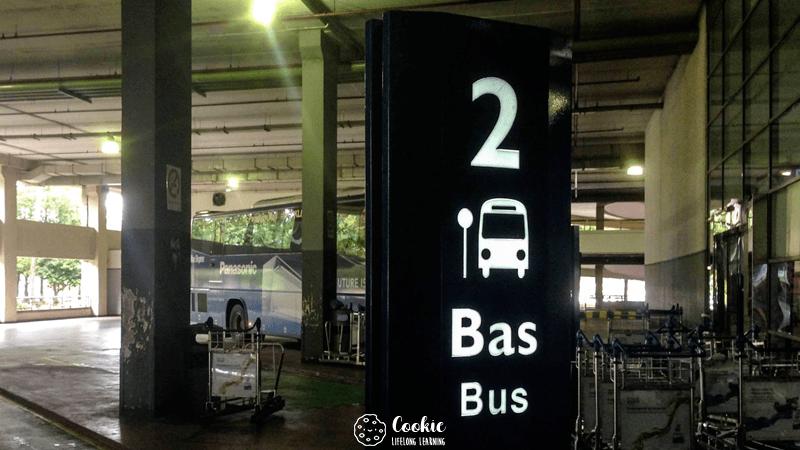นั่งรถบัสจากสนามบิน KLIA → ห้าง KL Sentral