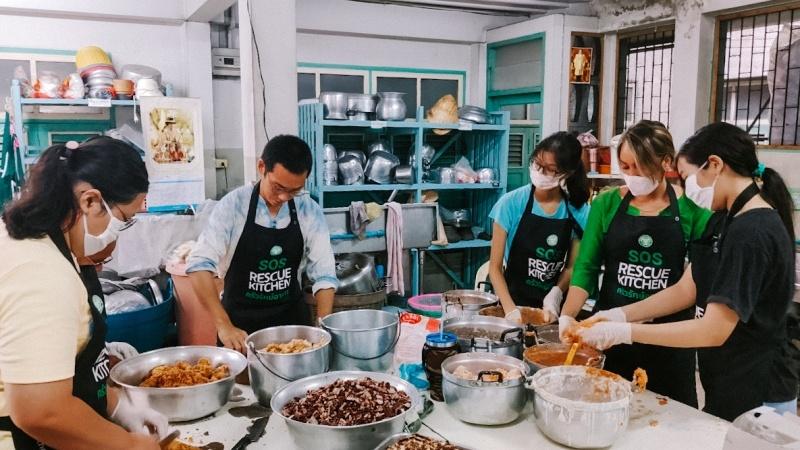 รีวิว จิตอาสาทำอาหาร กับ Scholars of Sustenance Thailand: SOS